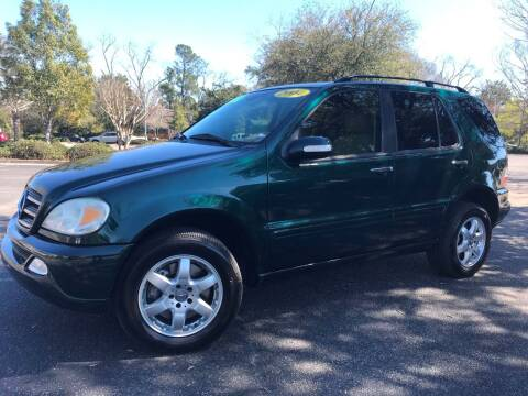 2004 Mercedes-Benz M-Class ML 500 for sale at Seaport Auto Sales in Wilmington NC