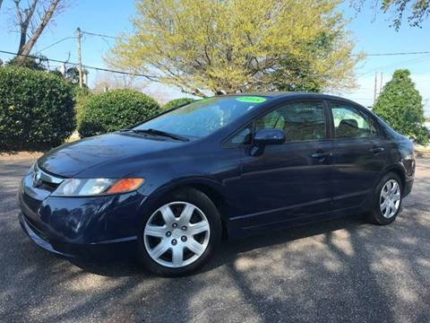 2008 Honda Civic LX for sale at Seaport Auto Sales in Wilmington NC