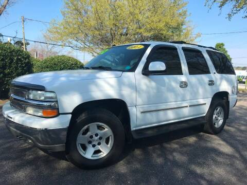 2004 Chevrolet Tahoe LT for sale at Seaport Auto Sales in Wilmington NC