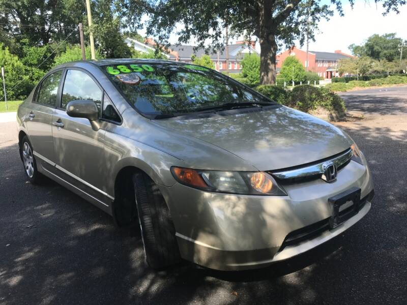 2007 Honda Civic LX 4dr Sedan (1.8L I4 5A) - Wilmington NC