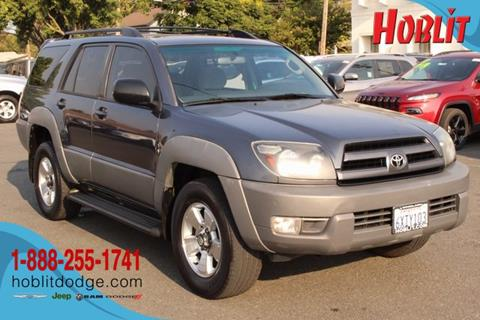 2003 Toyota 4Runner for sale in Woodland, CA