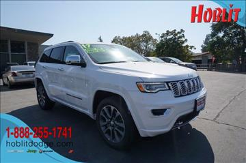 2017 Jeep Grand Cherokee for sale in Woodland, CA