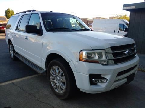 2015 Ford Expedition EL for sale in Woodland, CA
