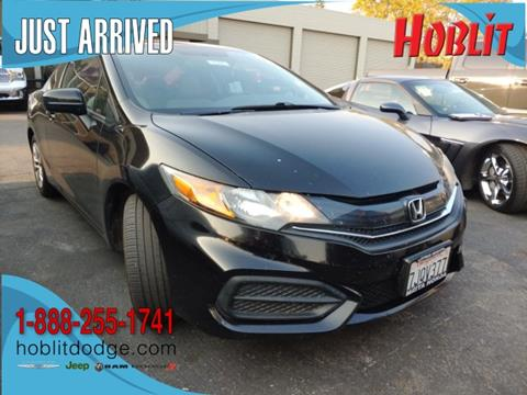 2014 Honda Civic LX for sale at Hoblit Preowned in Woodland CA