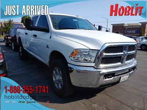 2016 RAM Ram Pickup 2500 Tradesman for sale at Hoblit Preowned in Woodland CA