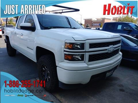 2014 Chevrolet Silverado 1500 for sale at Hoblit Preowned in Woodland CA