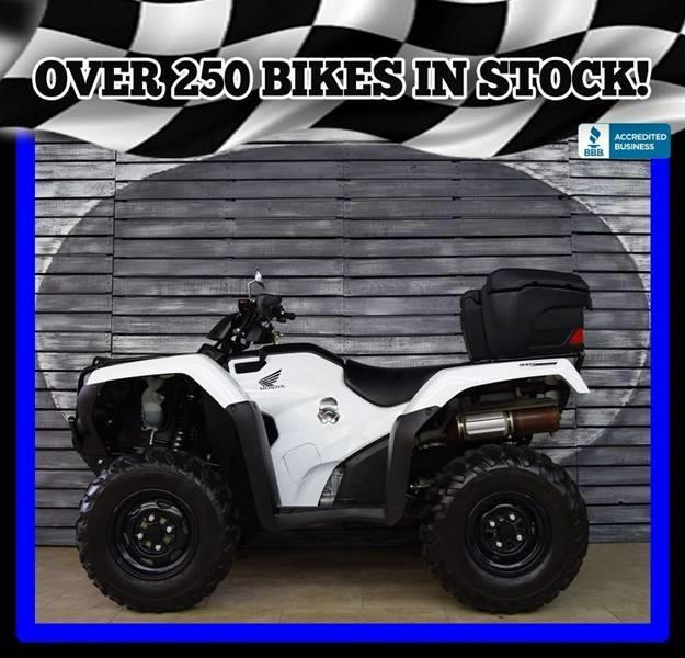 Picture of A 2016 Honda TRX420FA5G FourTrax Rancher