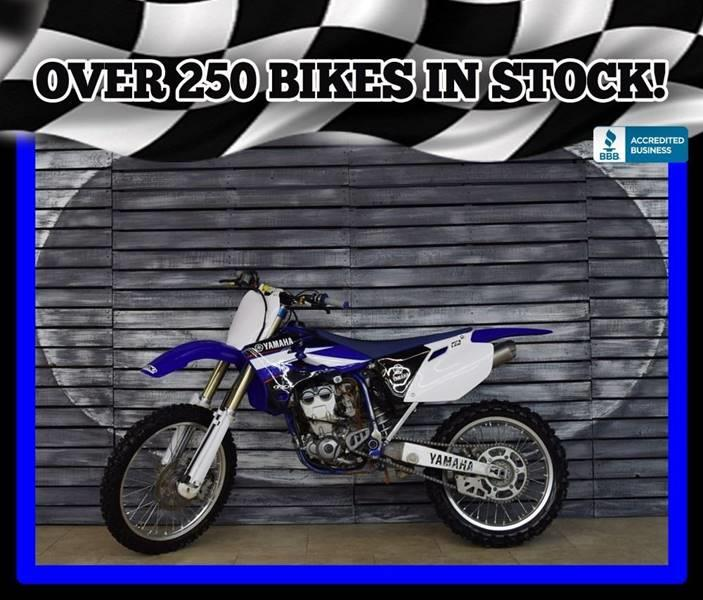 Picture of A 2004 Yamaha YZ250