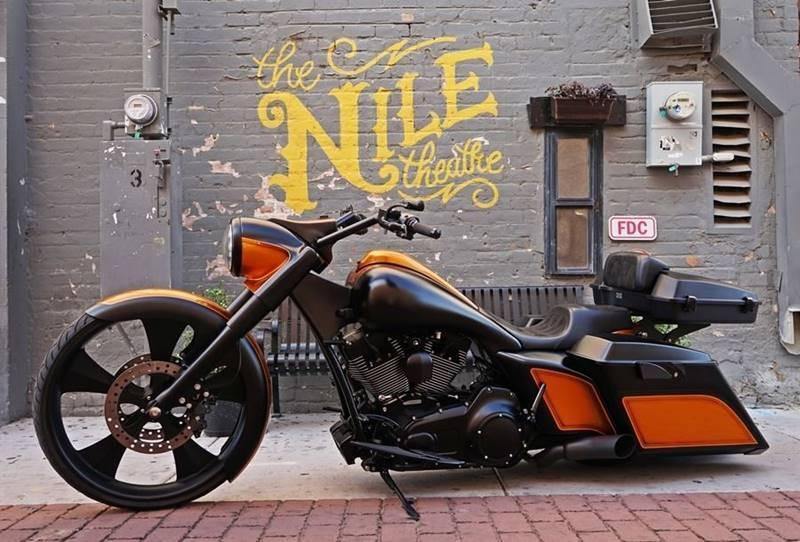2014 AzzKikr Custom Bagger for sale at Motomaxcycles.com in Mesa AZ