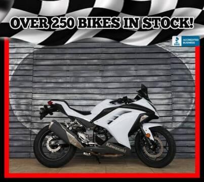 2013 Kawasaki Ninja 300 for sale at Motomaxcycles.com in Mesa AZ