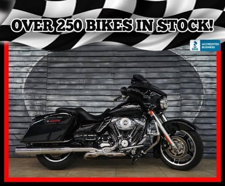2012 Harley-Davidson Street Glide for sale at Motomaxcycles.com in Mesa AZ