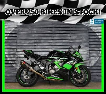 2016 Kawasaki Ninja ZX-6R for sale at Motomaxcycles.com in Mesa AZ