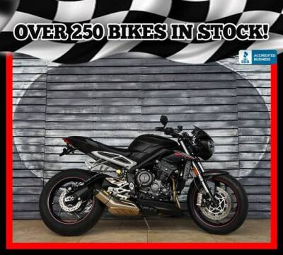 2019 Triumph Street Triple 765 RS for sale at Motomaxcycles.com in Mesa AZ