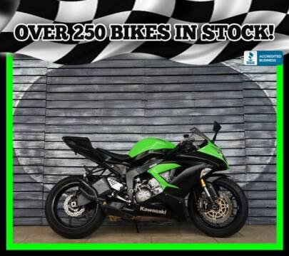 2014 Kawasaki Ninja ZX-6R for sale at Motomaxcycles.com in Mesa AZ