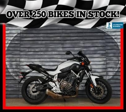 2015 Yamaha FZ-07 for sale at Motomaxcycles.com in Mesa AZ