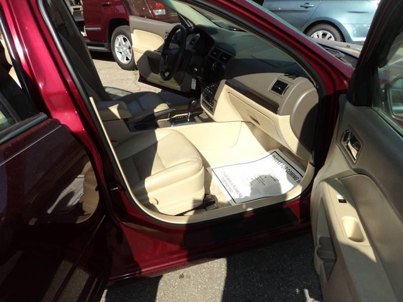 2007 Ford Fusion AWD V6 SEL 4dr Sedan - Brockton MA