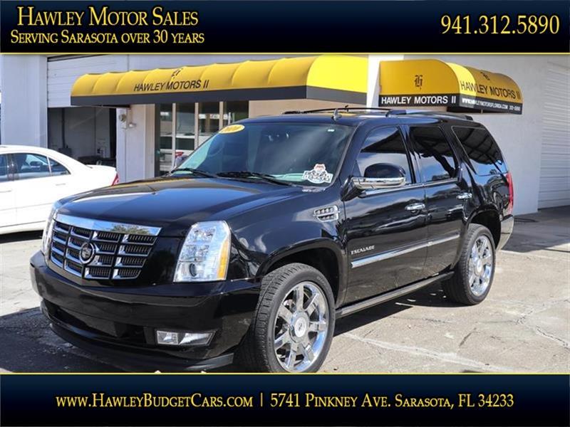 2010 Cadillac Escalade AWD Premium 4dr SUV In Sarasota FL - Hawley ...