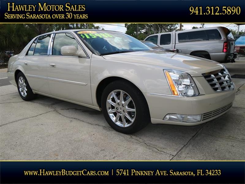 2011 Cadillac DTS Luxury Collection 4dr Sedan   Sarasota FL