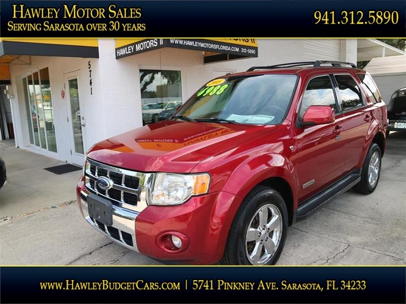 2008 Ford Escape Limited 4dr SUV - Sarasota FL