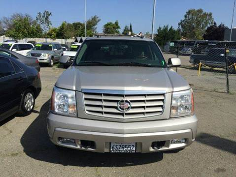 2005 Cadillac Escalade for sale at Lucky Auto Sale in Hayward CA