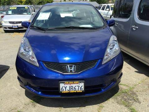2013 Honda Fit for sale at Lucky Auto Sale in Hayward CA