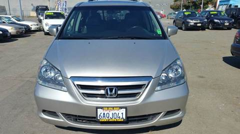 2007 Honda Odyssey for sale at Lucky Auto Sale in Hayward CA