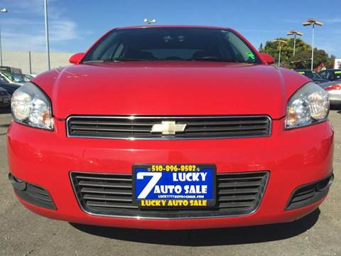 2011 Chevrolet Impala for sale at Lucky Auto Sale in Hayward CA