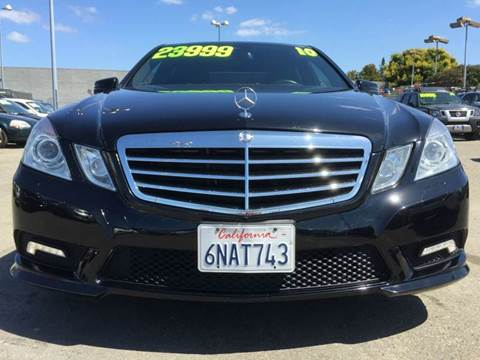 2010 Mercedes-Benz E-Class for sale at Lucky Auto Sale in Hayward CA