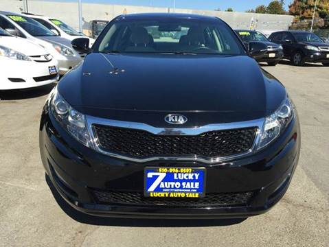 2013 Kia Optima for sale at Lucky Auto Sale in Hayward CA