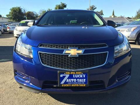 2012 Chevrolet Cruze for sale at Lucky Auto Sale in Hayward CA