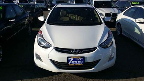 2011 Hyundai Elantra for sale at Lucky Auto Sale in Hayward CA