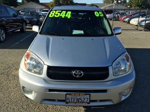 2005 Toyota RAV4 for sale at Lucky Auto Sale in Hayward CA