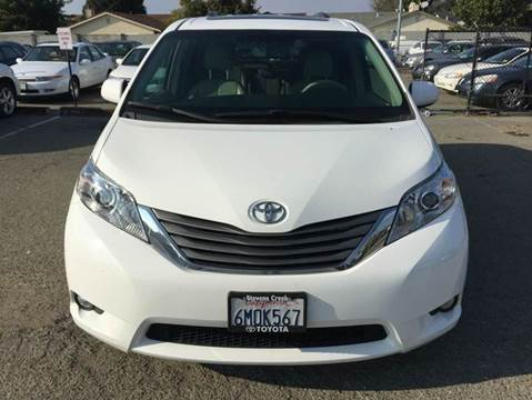 2011 Toyota Sienna for sale at Lucky Auto Sale in Hayward CA