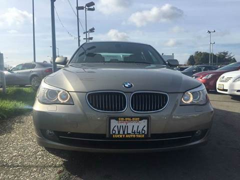 2008 BMW 5 Series for sale at Lucky Auto Sale in Hayward CA