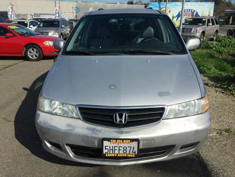 2004 Honda Odyssey for sale at Lucky Auto Sale in Hayward CA