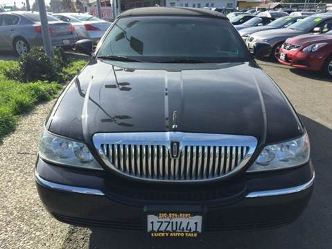 2005 Lincoln Town Car for sale at Lucky Auto Sale in Hayward CA