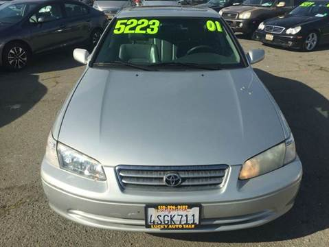 2001 Toyota Camry for sale at Lucky Auto Sale in Hayward CA