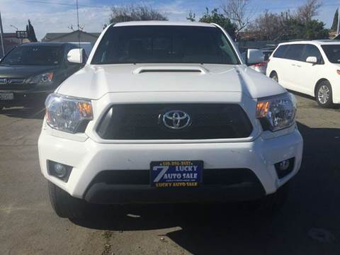 2015 Toyota Tacoma for sale at Lucky Auto Sale in Hayward CA