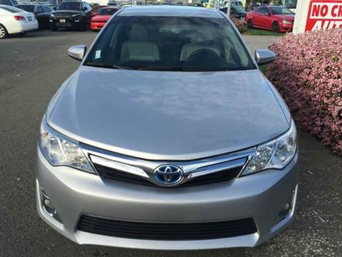 2013 Toyota Camry Hybrid for sale at Lucky Auto Sale in Hayward CA