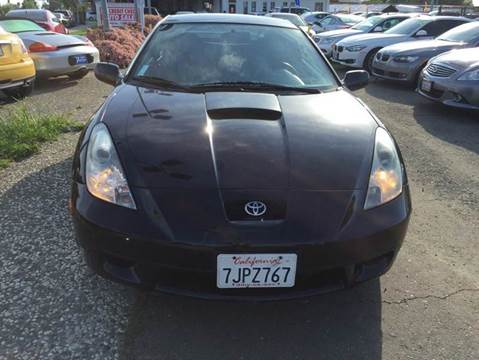 2001 Toyota Celica for sale at Lucky Auto Sale in Hayward CA