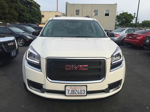 2015 GMC Acadia for sale at Lucky Auto Sale in Hayward CA