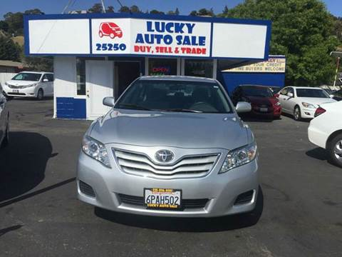 2011 Toyota Camry for sale at Lucky Auto Sale in Hayward CA