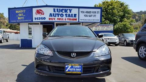 2005 Acura RSX for sale at Lucky Auto Sale in Hayward CA
