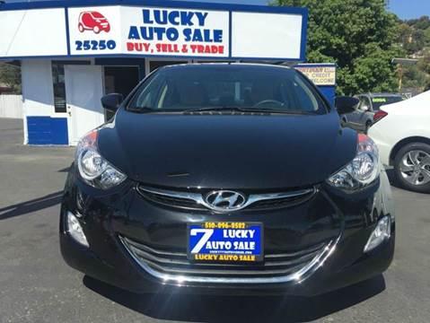 2013 Hyundai Elantra for sale at Lucky Auto Sale in Hayward CA