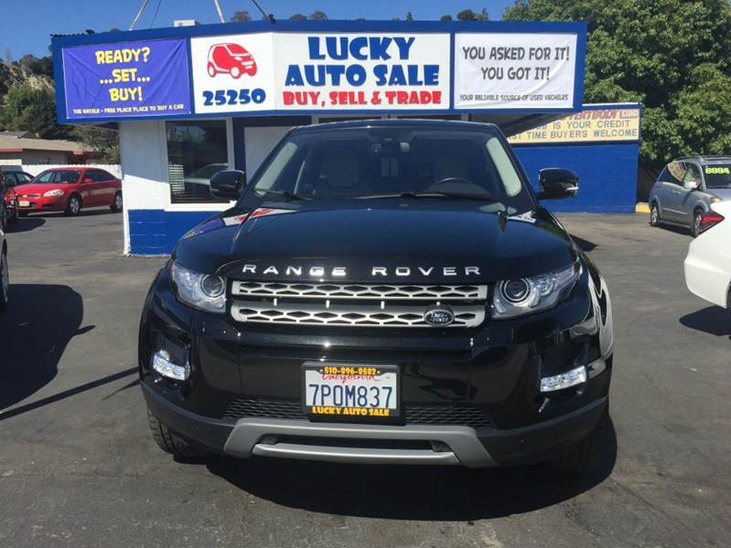 2013 Land Rover Range Rover Evoque for sale at Lucky Auto Sale in Hayward CA