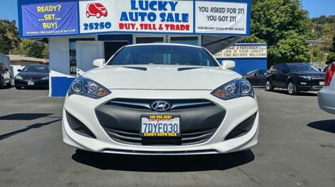 2013 Hyundai Genesis Coupe for sale at Lucky Auto Sale in Hayward CA