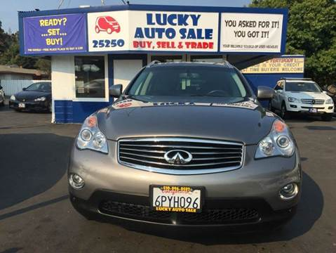2010 Infiniti EX35 for sale at Lucky Auto Sale in Hayward CA