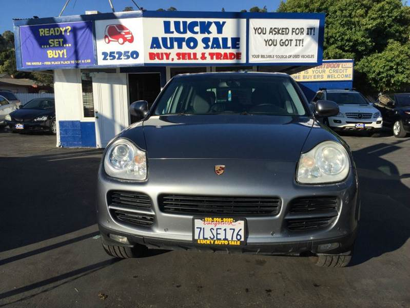 2004 Porsche Cayenne for sale at Lucky Auto Sale in Hayward CA