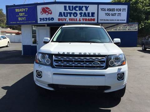 2014 Land Rover LR2 for sale at Lucky Auto Sale in Hayward CA