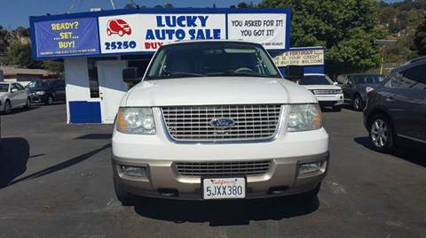 2004 Ford Expedition for sale at Lucky Auto Sale in Hayward CA